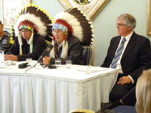 Caribou_judicial_review_news_conference_Sept_8_2010_013 - Oct 8, 2010 - FNs Court Date Expected Blog Pic