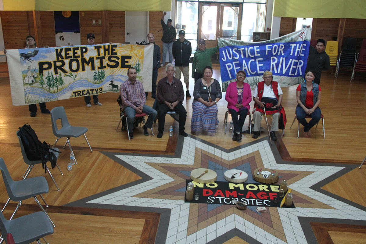 Winniped stop, Justice for the Peace Caravan. photo Gary McNutt