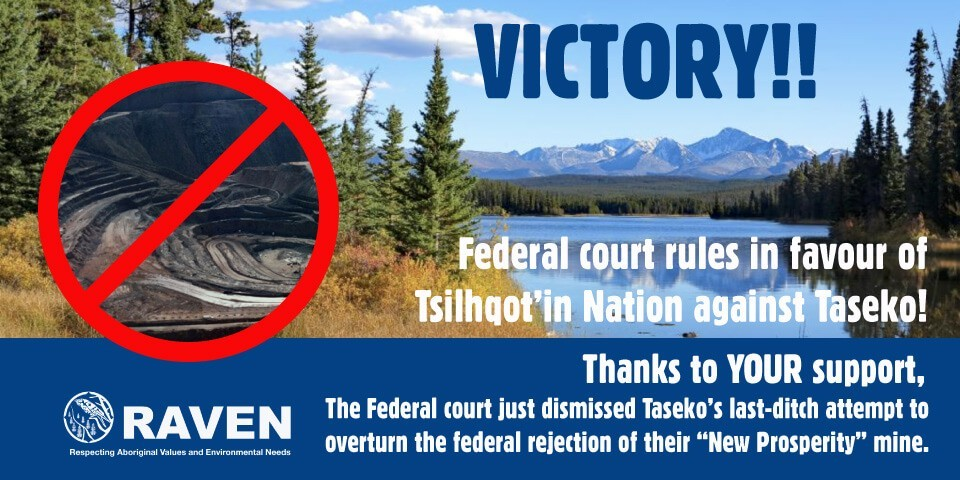 Tsilhqot'in win in Federal Court!