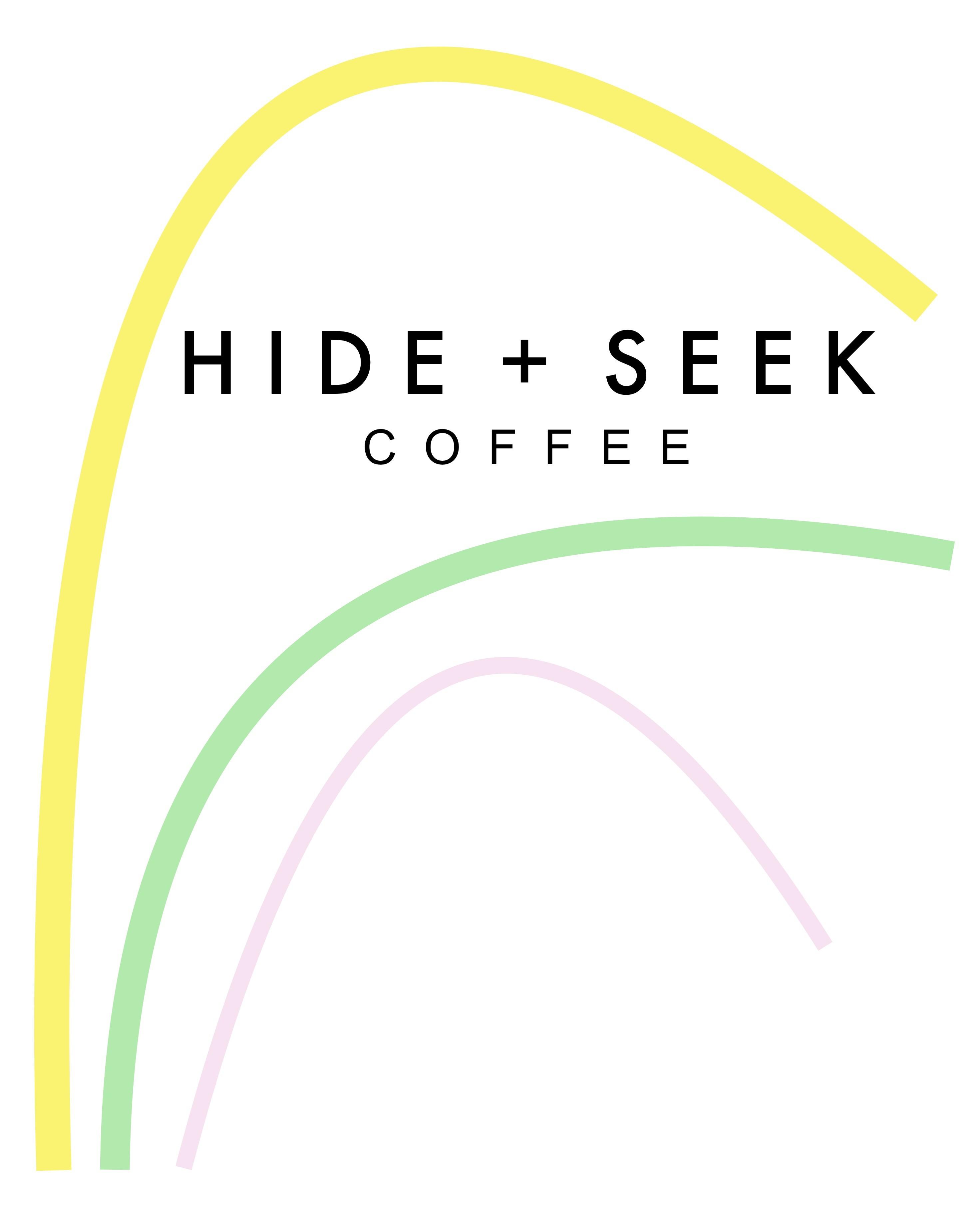 Hide and Seek Coffee Waves LOGO